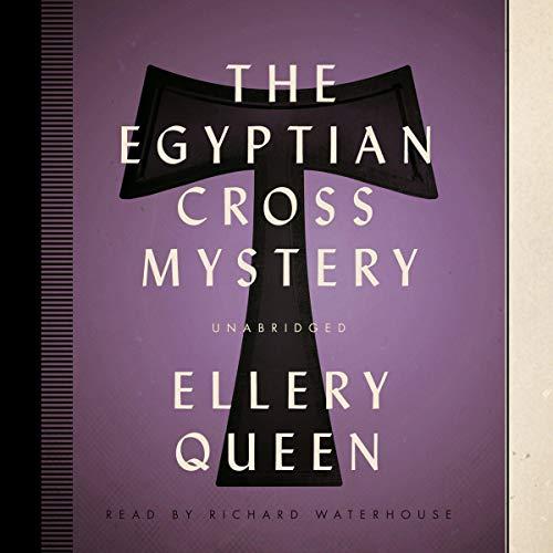 『The Egyptian Cross Mystery』のカバーアート