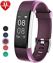 Fitness Tracker with Heart Rate Monitor,Willful Fitness Watch Activity Tracker IP67 Waterproof Slim Smart Band with Step Calorie Counter 14 Sports Mode Sleep Monitor,Pedometer for Kid Women Men Purple
