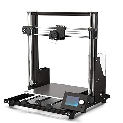 MYD Imprimante Anet a mis à Niveau Les Kits d'imprimante 3D DIY de Bureau FDM en métal intégré de Bureau avec Le Grand écran LCD 12864 Grand Volume volumineux Accessoires