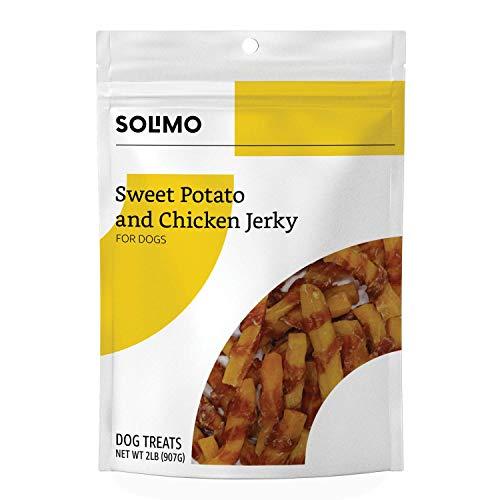 Amazon Brand  Solimo Sweet Potato amp Chicken Jerky Dog Treats