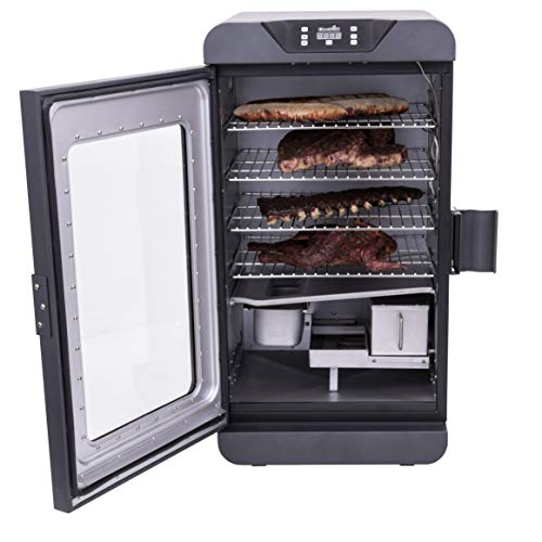 Char-Broil 19202101 Deluxe Black Digital Electric Smoker, Large, 725 Square Inch