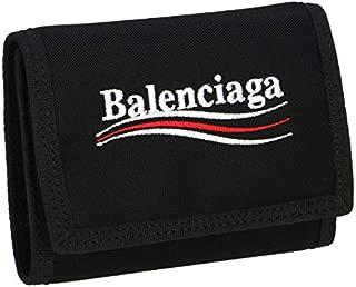 BALENCIAGA(バレンシアガ) 財布 メンズ EXPLORER SQ C.WALLET 3つ折り財布 NERO 507481-9WB25-1000 [並行輸入品]