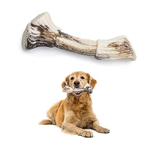 PetsLA Dog Chew Toys Indestructible Hard Nylon Dog Bone Toy