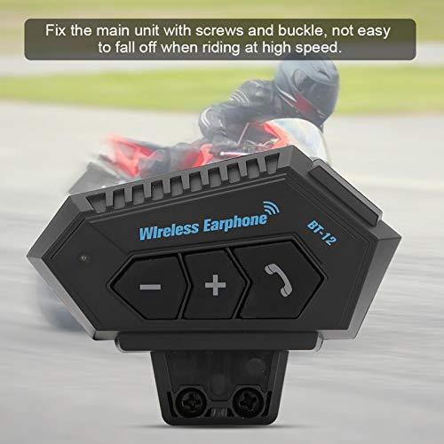 Auriculares para casco, ABS Bluetooth 4.1 Auriculares para montar a caballo Reducción de ruido de alta potencia para montar al aire libre