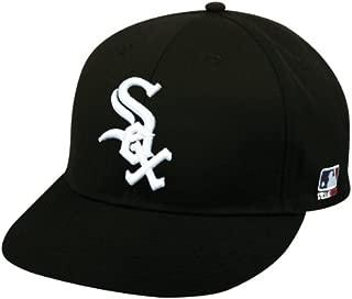 2013 Youth FLAT BRIM Chicago White Sox Home Black Hat Cap MLB Adjustable