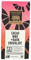 Endangered Species Chocolate チョコレートシリーズ 3 oz (85 g) カカオニブ