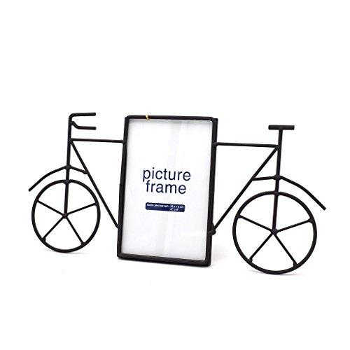 siwetg - Cornice portafoto in metallo per bicicletta, decorazione da tavolo