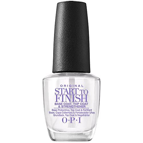 OPI Nail Polish Treatment, 3-in-1 Original Start to Finish Nail Treatment, 0.5 Fl Oz