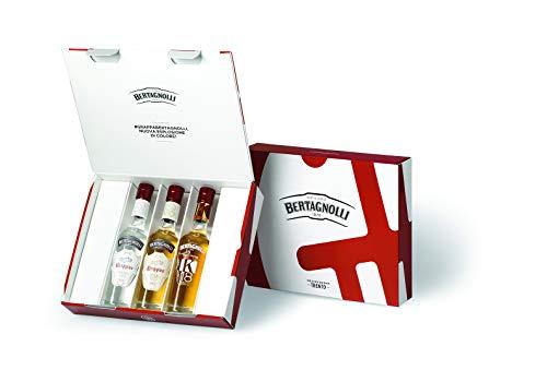 Distilleria Bertagnolli Cofanetto 3 Grappe Grappino Bianco, Grappino Oro - 200 ml