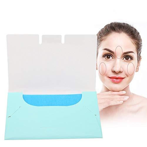50 Stück Ölabsorbierendes Papier, Papier Absorbens für das Gesicht, Gesichtsöl Blotting Paper Universal Female Ölabsorbierende Kosmetik Make up Gesichtspflege