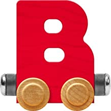 product image for Maple Landmark NameTrain Bright Letter Car B - Made in USA (Red)