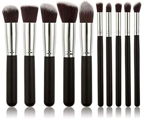 Makep Brush Set Set Ofshadow Foundation Liquid Foundation Eyeliner Tyelash Maquillage Maquillage Maquillage Cosmétique Beauté Maquillage Tool de Pinceau Set de Pinceau de Maquillage