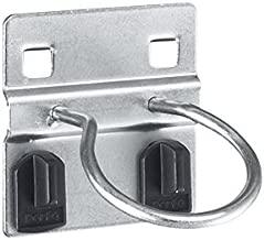 14011020 5 St/ück mit Doppelaufnahme f/ür perfo Lochplatten bott perfo Rundhalter Durchmesser 80 mm