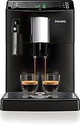 Philips 3100 series HD8831 / 01 coffee machine (1850 Watt, classic milk frother) black