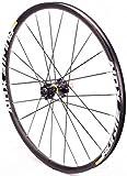 YZU Rueda trasera para bicicleta de carretera, 700 c, llantas de doble pared, eje de aleación, eje a través de 12 x 142 mm, freno de disco 24 H 895 g 8 – 11 velocidades, color negro