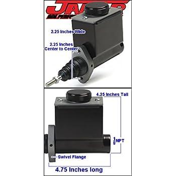 Jamar Performance Billet Aluminum Slim Line 11//16 Inch Bore Master Cylinder