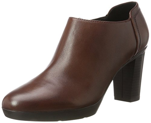 Geox Damen D Inspiration Plateau C Pumps, Braun (Brown), 41 EU (7.5 UK)