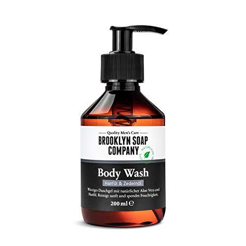 Brooklyn Soap Company Body Wash, 200ml · Duschgel für Männer, mit natürlichen Inhaltsstoffen