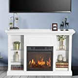 CHADIOR Electric Fireplace Stand, Fit up to 50' Flat Screen TV...