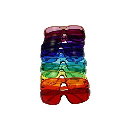 Sale!! Color Therapy Glasses - Size Small Sunglasses - Set of 10 Colors