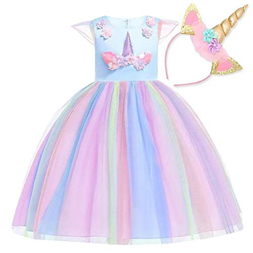 ROSA GLITTER PAPILLON-Fancy Dress Costume Grande-VESTITO PARTY