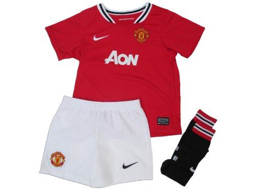 Nike Manchester United Home Toddler's Soccer Kit- 2011/12 (XL)