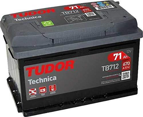TUDOR TB712 Batería automoción