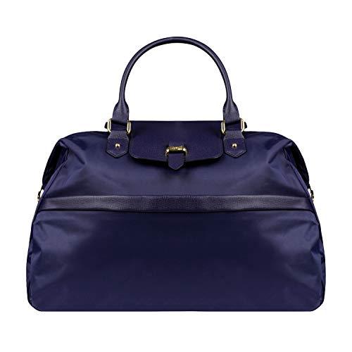 Lipault - Plume Avenue Duffle Bag - Top Handle Shoulder Overnight Travel Weekender Luggage for Women - Night Blue