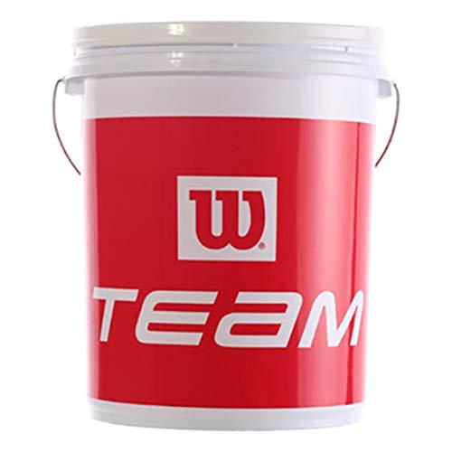 Wilson Tennisball-Eimer Ball Bucket, Kunststoff, rot/weiß, X4380