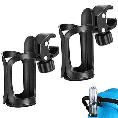 Bike Cup Holder,BETOY 2 pack Portabotellas de agua 360 Grados de rotación Bebida Botella de agua jaulas Cochecitos de bebé para bicicletas, bicicletas de montaña,cochecitos de bebé y sillas de ruedas