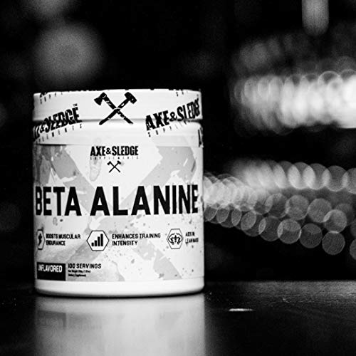 Axe & Sledge Beta Alanine 200g (100 Servings)