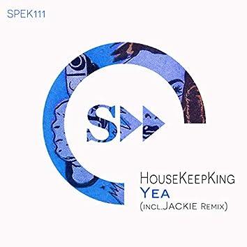 Yea (incl.Jackie Remix)