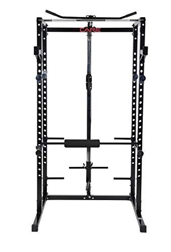 CARE FITNESS - Power Rack - Cage Crossfit - Power Rack idéal pour Le Crosstraining - Cage...
