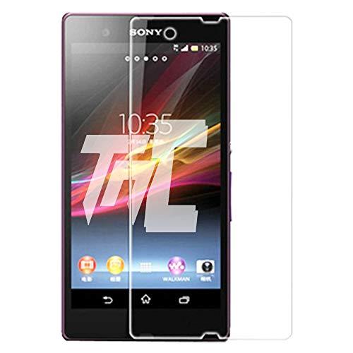 Concept ®/TM-Cristal protector de pantalla para Sony Xperia Z-Verre HQ templado Ultra resistentes a arañazos rupturas & ()-Ultra Slim (0,26 mm) con bordes redondeados, protección y un uso óptimo.