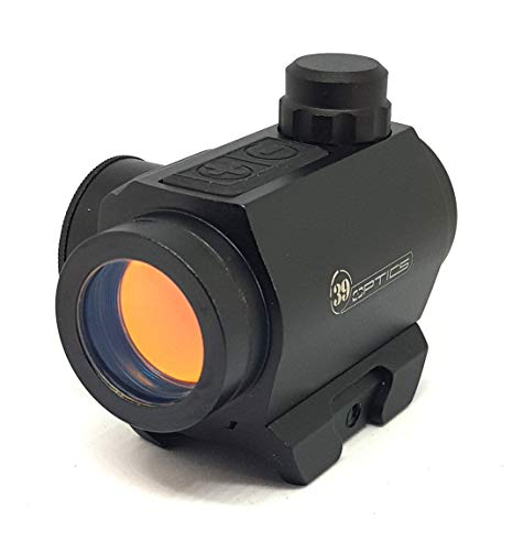 BIGNAMI Red DOT reddot da Caccia Softair olografico Hunting MIRINO per Fucile CARABINA Vista Scopo Punto Rosso per Fucile Pistola Regolabile GTB608