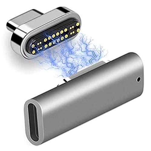 Wivarra Adaptador USB Tipo C de Datos de 40 Gbps, Video de 6K, Carga de 20 V / 5 a Compatible con Pro 3 USB-C