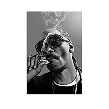 Hip-hop Rapper Snoop Dogg 1 Canvas Art Poster and Wall Art Picture Print Modern Family Bedroom Decor Posters 16x24inch 40x60cm