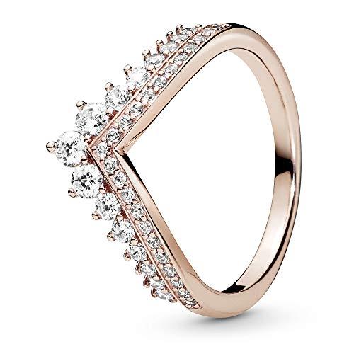Pandora Women Vermeil Statement Ring 187736CZ-56,Gold
