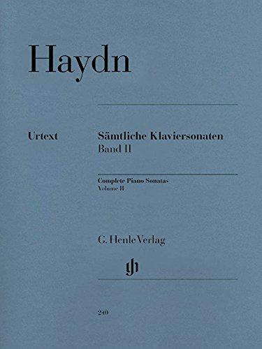 Haydn: Complete Piano Sonatas - Volume II (English, French and German Edition)