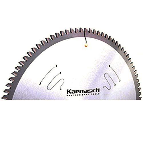 Karnasch HM-Blatt, HM-bestücktes Kreissägeblatt,Sägeblatt, Alu Negativ, Plexiglas, GFK, Messing 300 x 3,2 x 32mm 72 TFN