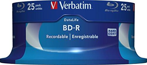 Blue-Ray Disc Verbatim 1x25 25GB 6x Speed Datalife No-ID Cakebox [43837]