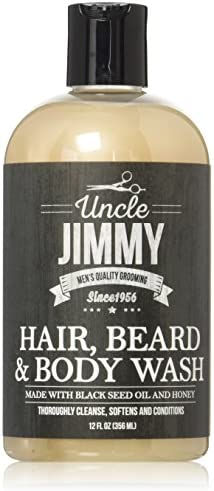 Uncle Jimmy Hair Beard Body Wash 12 Oz product image