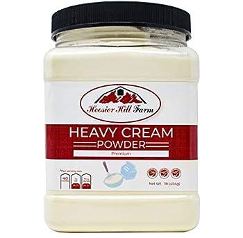 Hoosier Hill Farm Heavy Cream Powder Jar 1 Pound