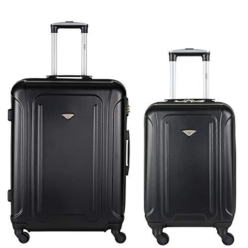 Flight Knight-koffers Maximaal voor Delta, Virgin Atlantic, lichtgewicht ABS koffers Handbagage en bagage Vasthouden easyjey Ryanair