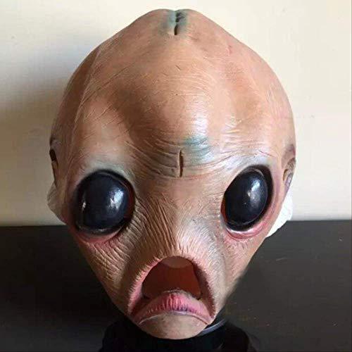 tytlmask Maschera Inquietante Aliena E Lattice, novità UFO in Gomma Maschera, per Halloween Costume di Natale Prop Teatro
