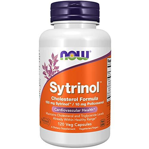 NOW Supplements, Sytrinol, Cholesterol Formula, with 150 mg Sytrinol and 10 mg Policosanol, 120 Veg Capsules