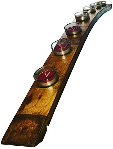 OFFicial store VINE RE DESIGN Wine Manufacturer direct delivery Barrel Stave Inches 34 Candle Lon Holder