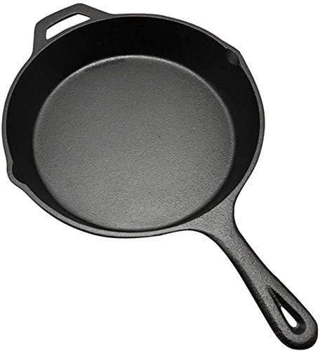 LBWARMB Casseruola piatto calderone in ghisa ghisa domestica Pan,Vaso di ghisa ispessito,Fisica antiaderente Wok padella