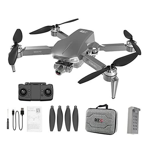 Yeahb Mini Drone con Cámara 4k Anti Vibración Drone con Camara Control De Gestos Mini Drone Camara Control Remoto, Posicionamiento GPS, Envolvente De Punto Fijo