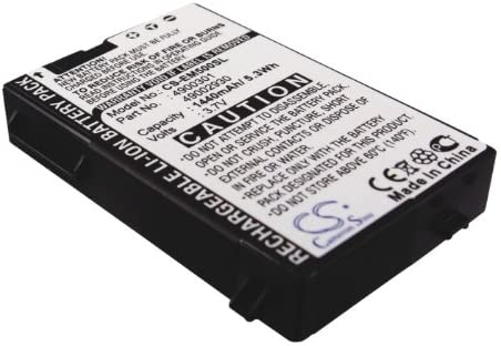 3.7V 49000301 Battery 1 year warranty Replacement Everex Neon for Columbus Mall E900
